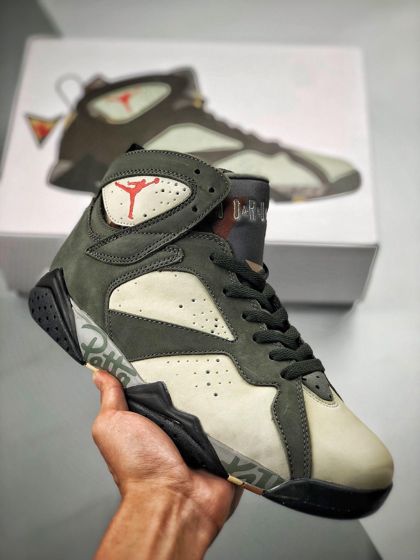 Nike Air Jordan 7 x Patta Retro OG SP Shimme AT3375 100