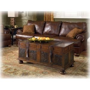 T75320 In By Ashley Furniture In Manhattan, KS   Cocktail Table With  Storage. Trunk Coffee ...