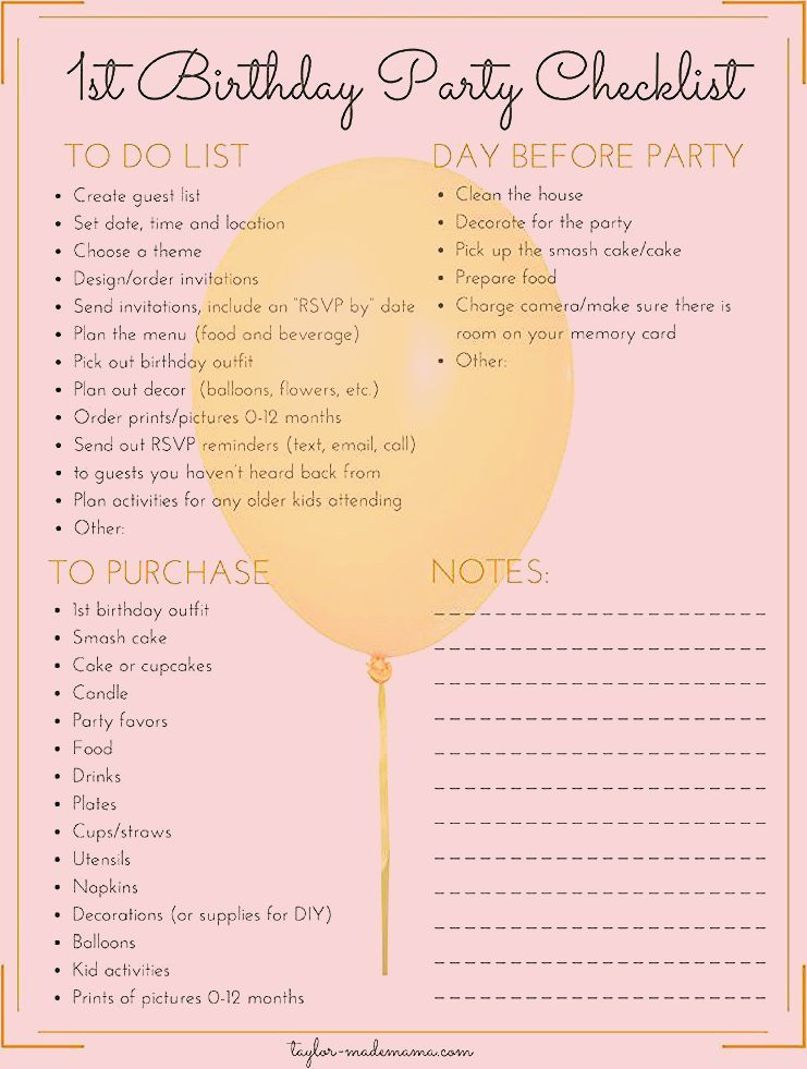 Photo of The Ultimate First Birthday Party Planning And Gift Guide