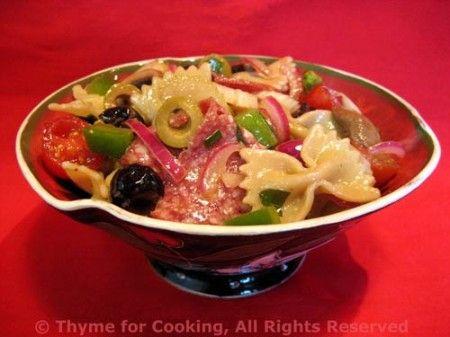 Italian Picnic Pasta Salad