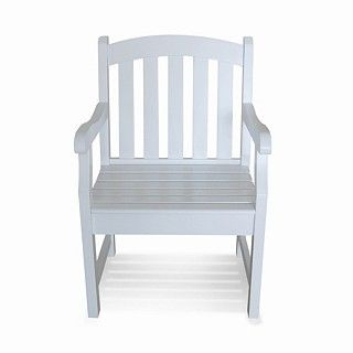 Outdoor white chair  $150.04