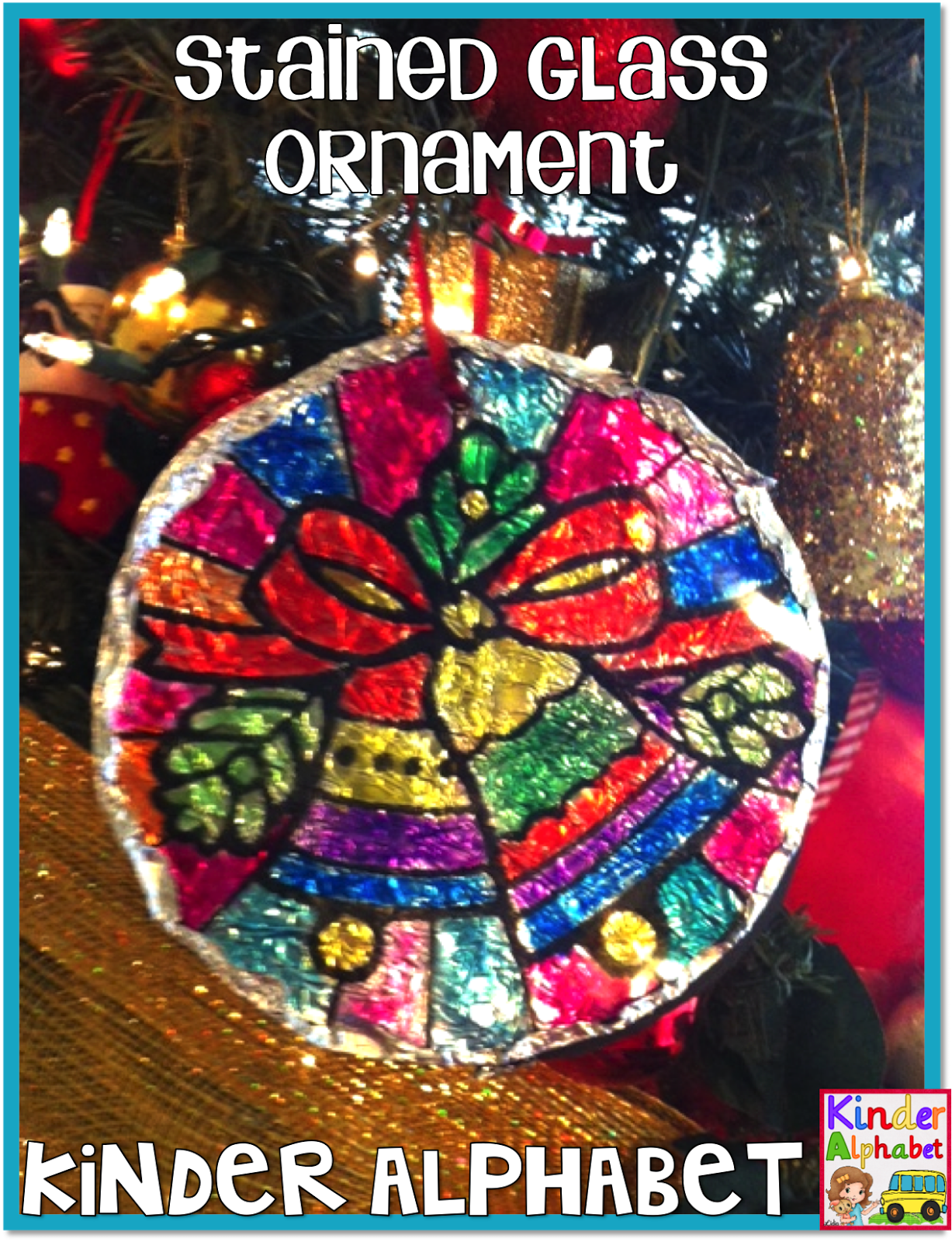 A Fun Christmas Ornament Keepsake For Students DIY Instructions Included It Looks Beautiful On Tree
