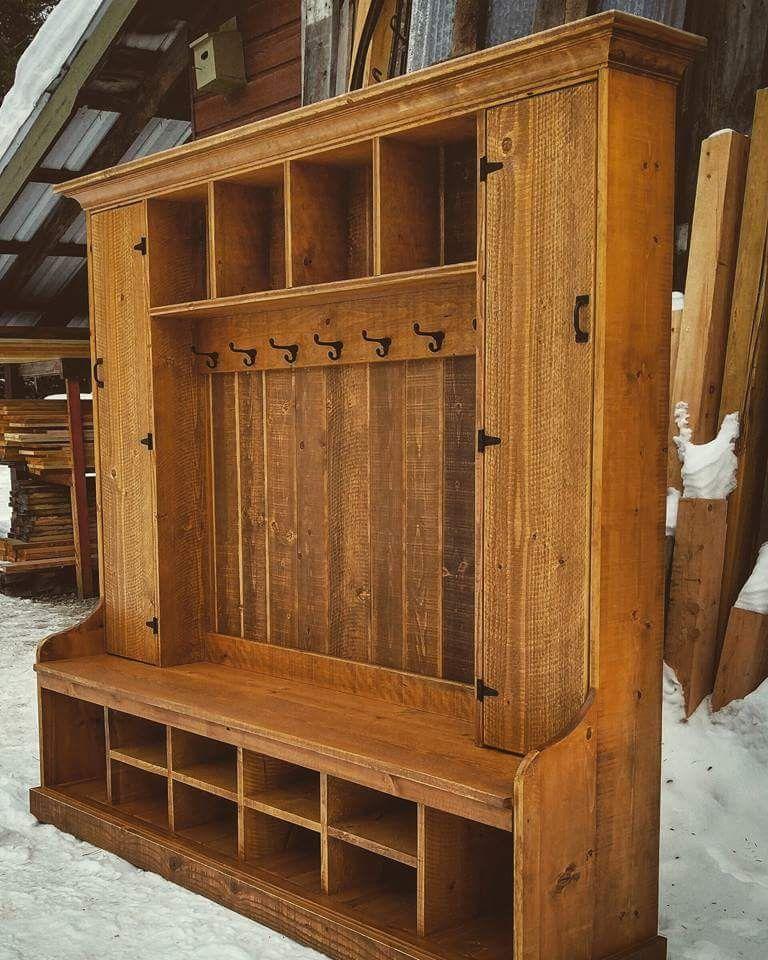Hall Tree Diy Furniture Plans