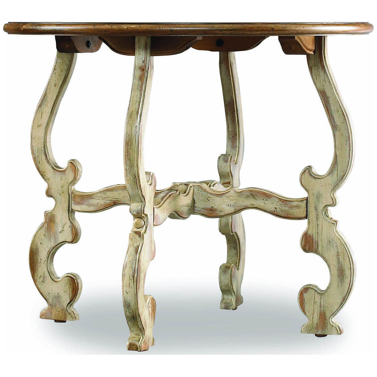 Hooker Furniture Sanctuary Round Dune and Beach Lamp Table 3002-80116