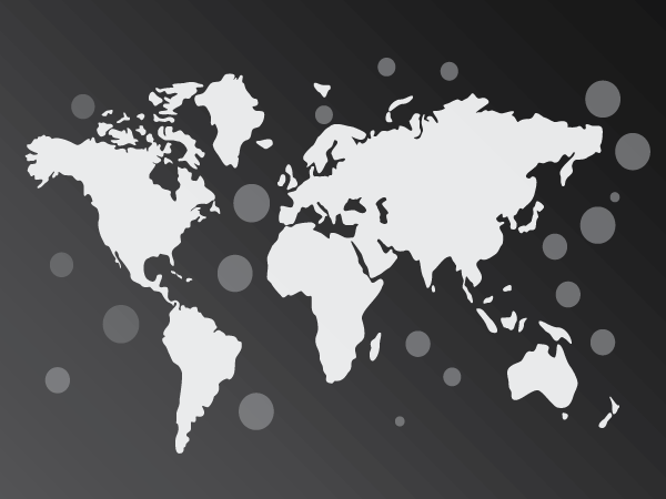 Pin Location Map Free Vector Graphic On Pixabay: World Map Black Free Vector