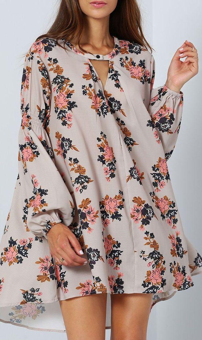 Be floral :) | Collection makeup | Pinterest | Fliessende kleider ...
