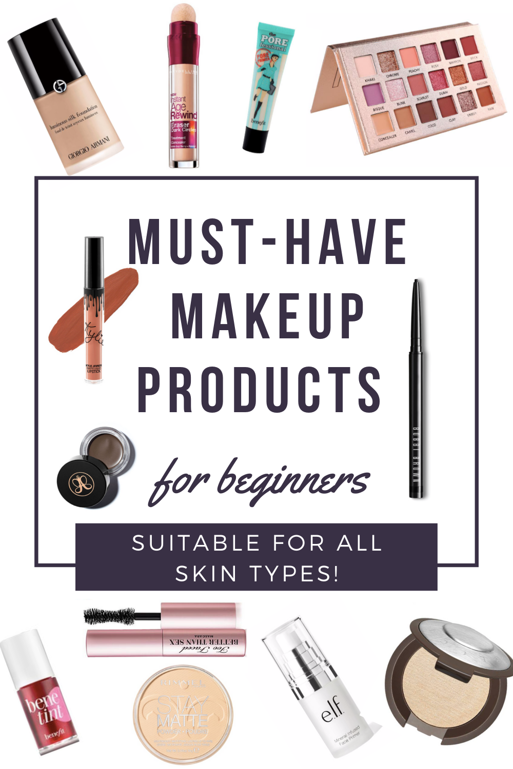 2020 Must Have Natural Makeup Products For Beginners In 2020 Makeup For Beginners Best Makeup Products Makeup