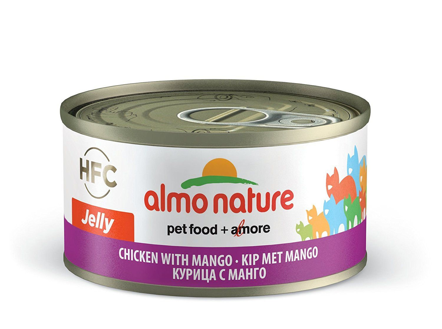 Almo nature hfc jelly with chicken and mango pack of 24 x