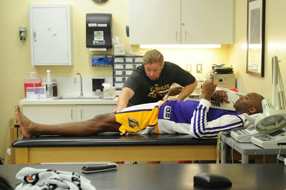 Kobe Briant in therapy