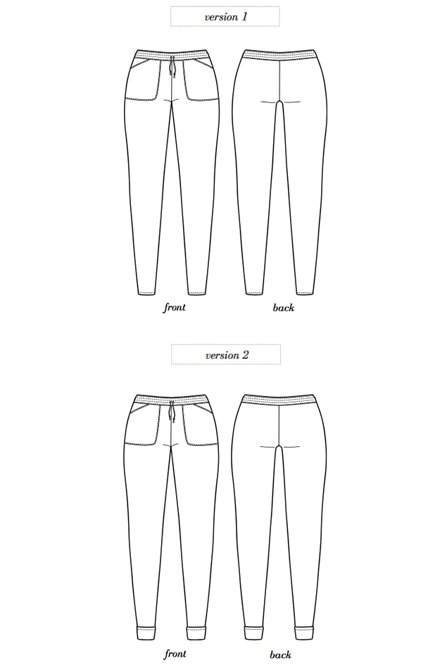 Seamwork Moji pant | Sewing::Patterns I Own or Want | Pinterest