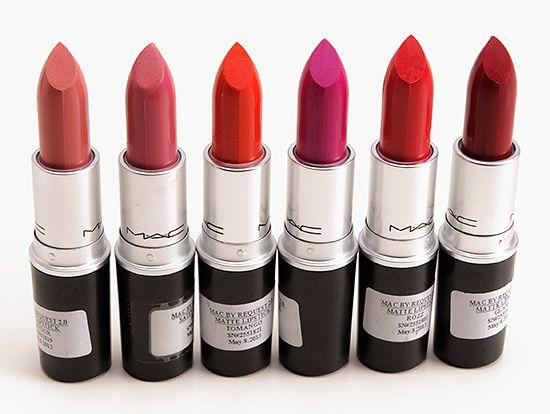 mac cosmetics by request 2013