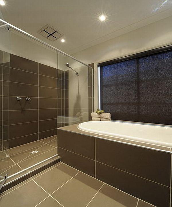 Bathroom Tile Color Schemes: Stratos Mocca Natural (MAXFL7090)