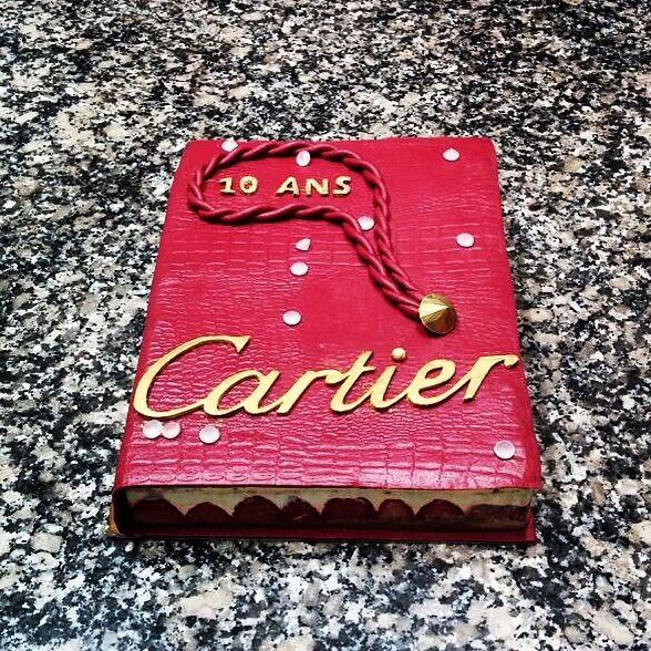 Cartier Birthday Cake Le Fraisier Cakes By Les Ateliers Du Chef