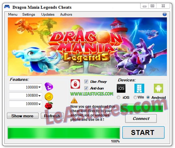 Dragon Mania Legends Cheats → Glitch Hack to get Gems | Le Astuces