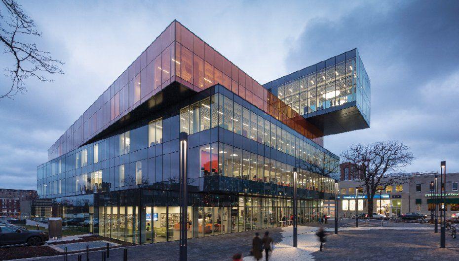 Halifax Public Library Central Library Architecture Landscape