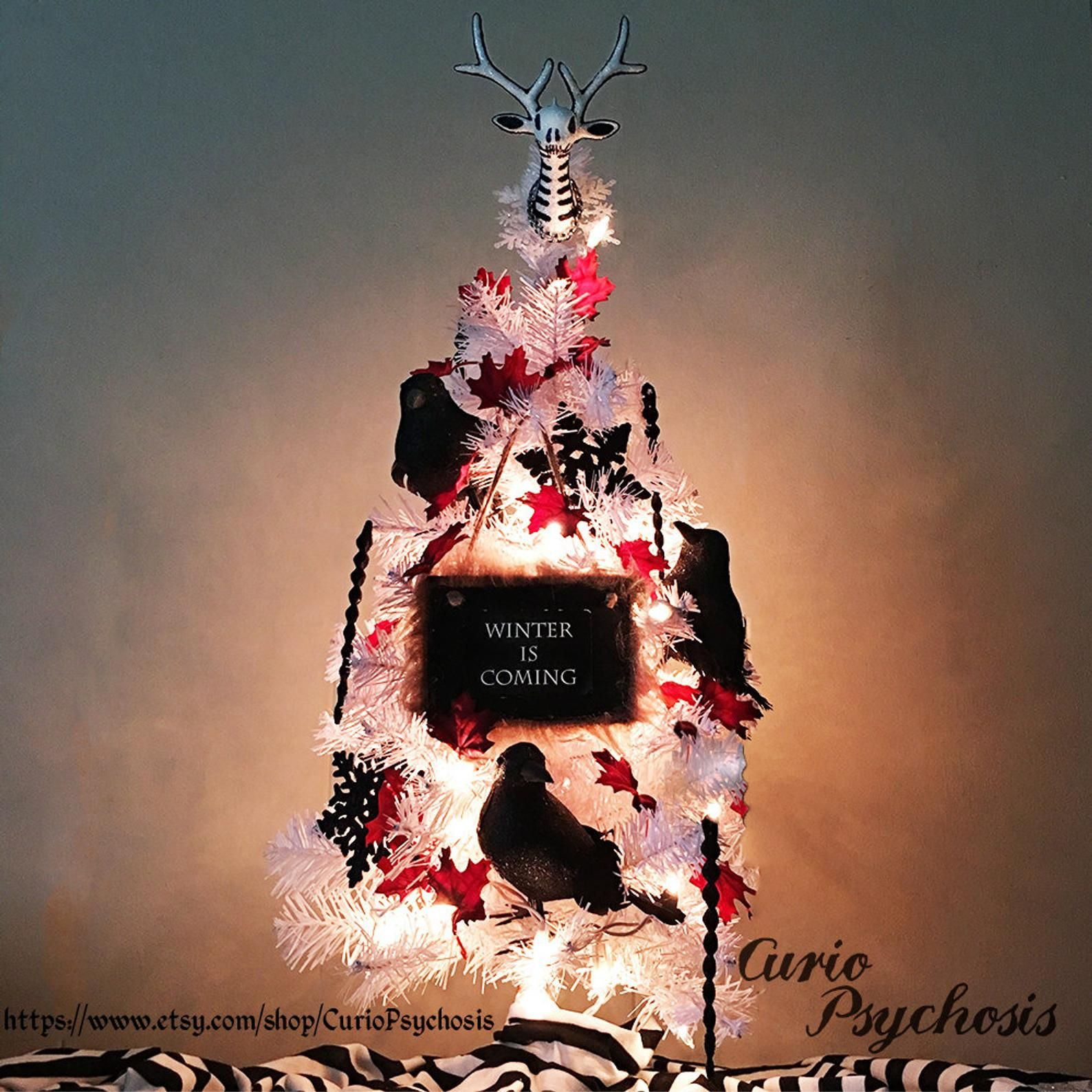 Game Of Thrones Ornament Christmas Tree Winter Is Coming Winds Of