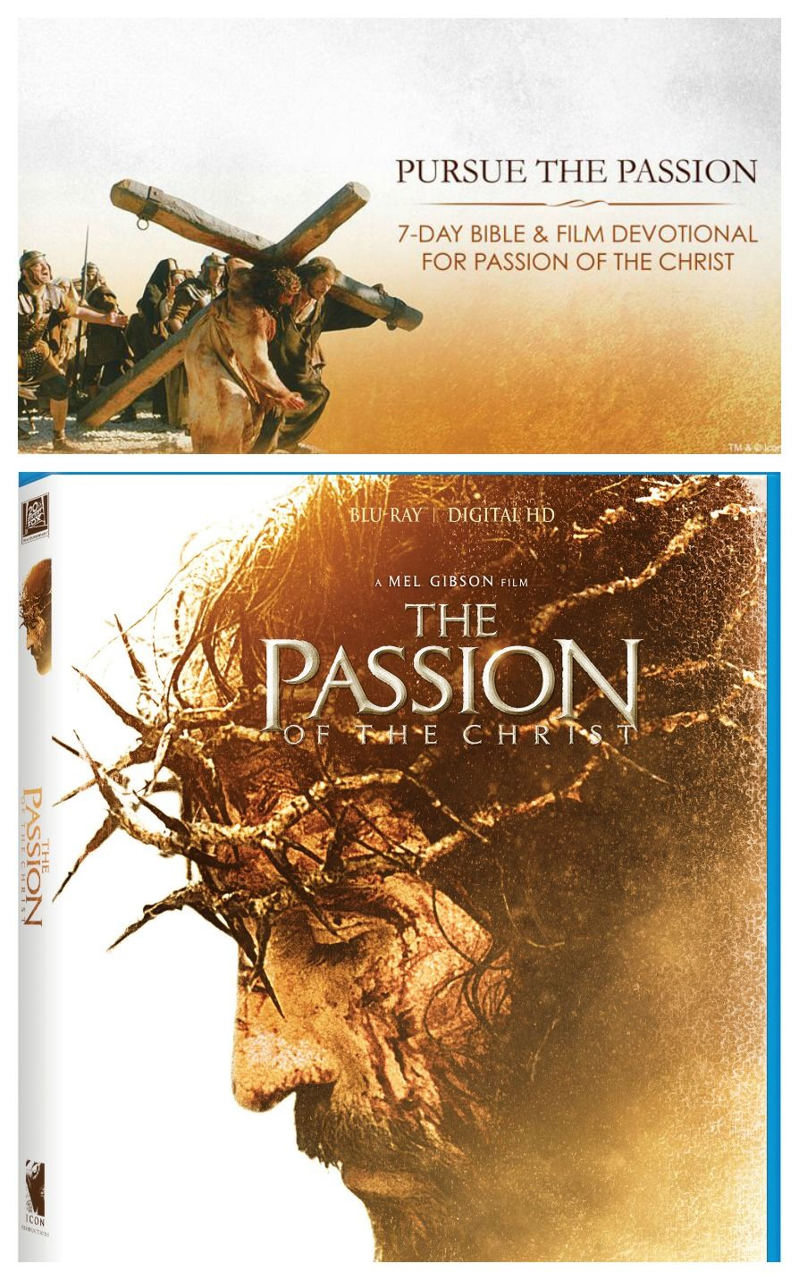 Pursue The Passion with a 7-day study that enables you to reflect on your own life through #ThePassionOfTheChrist film and scripture. #PursuethePassion #Easter2017