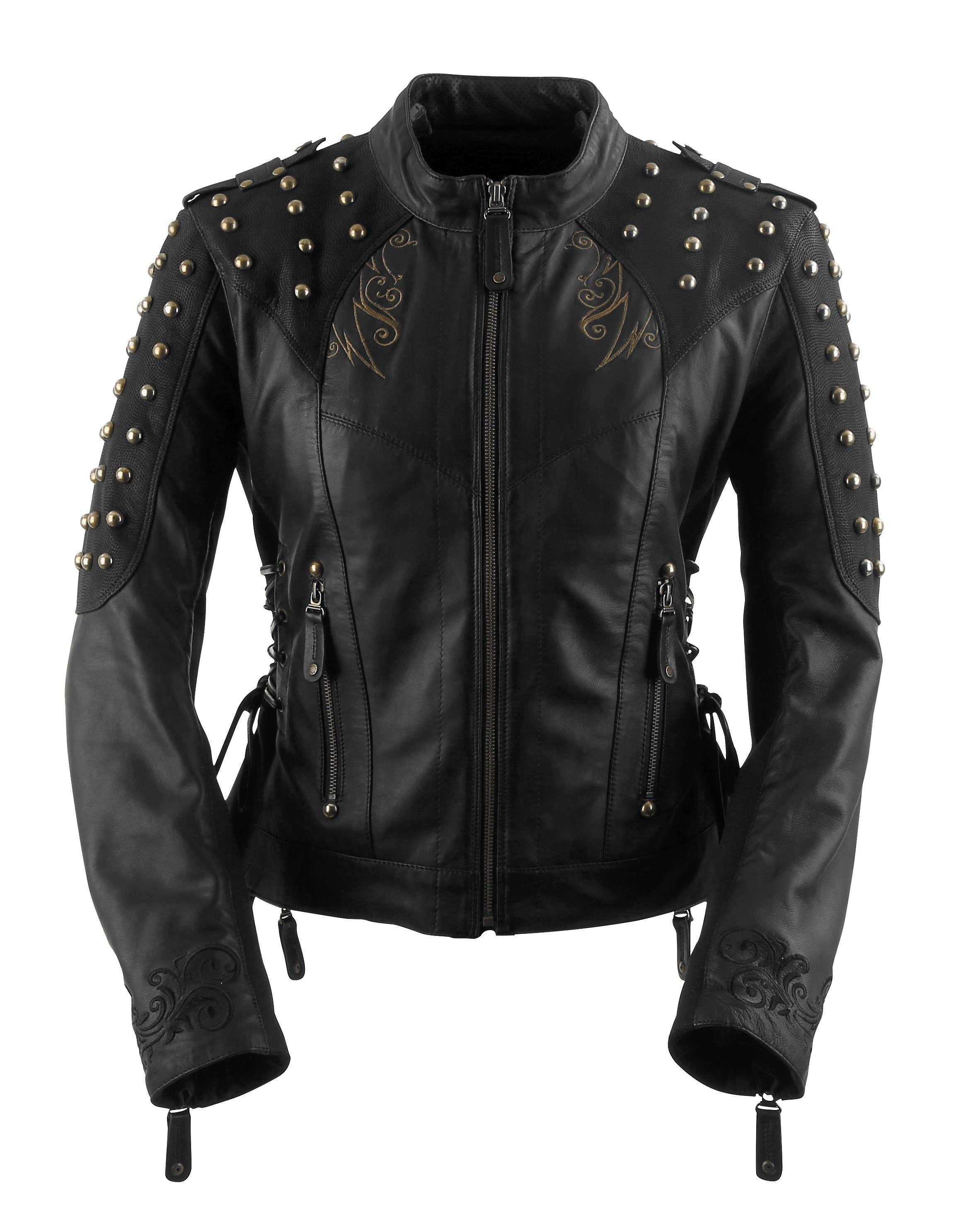 Black Brand Mantra Women's Jacket Motorcycle jacket women