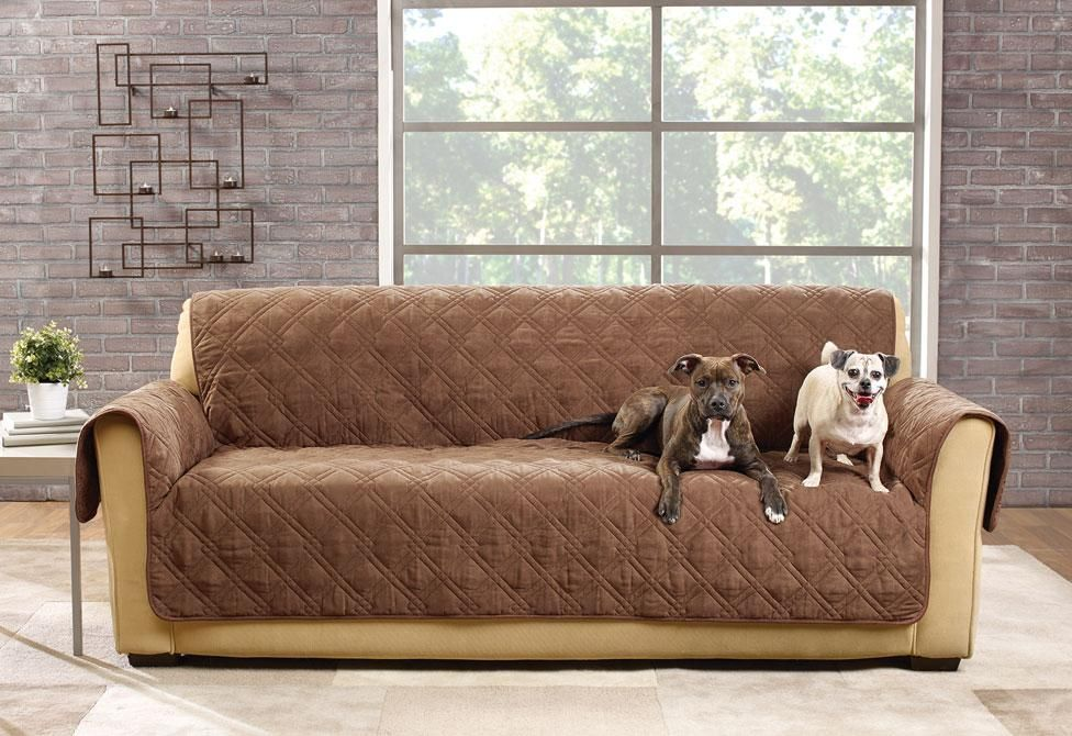 Deluxe Waterproof Sofa Furniture Cover 100 Polyester Pet