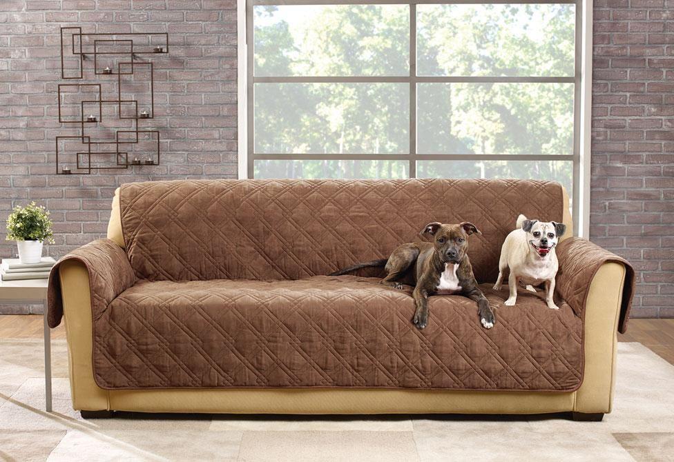 Deluxe Waterproof Sofa Furniture Cover 100 Polyester Pet Furniture Cover Machine Washable Pet Sofa Cover Furniture Covers Sofa Furniture