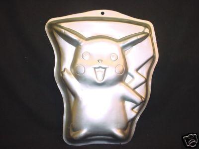 Wilton Pokemon Cake Pan Pokeman Nintendo Bake Mold Tin