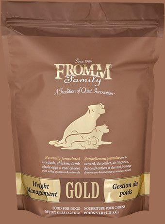 Fromm Gold Weight Management In 2019 Products Dog Food Recipes