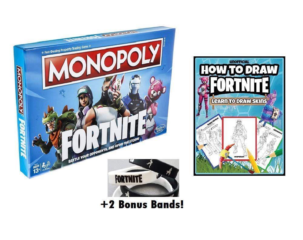 Fortnite Monopoly How To Draw Fortnite And Bonus Fortnite Wrist