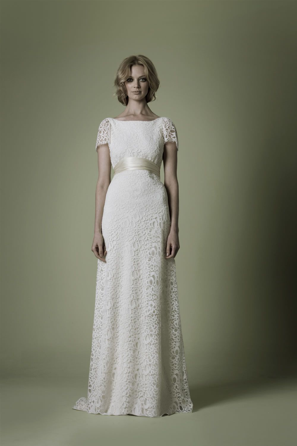 1960s dress would keep the sash but not the sleeves