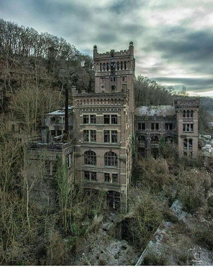 Hotel Ruins, Unknown Location