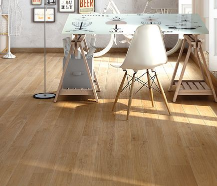 Suelo laminado finfloor roble escoces leroy merlin for Suelos de madera leroy merlin