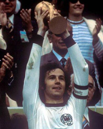 Franz Beckenbauer Deutschland Europameister 1972