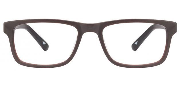 Vincent Chase Premium Vagabond VC 6486 Matte Brown Black C2 Eyeglasses