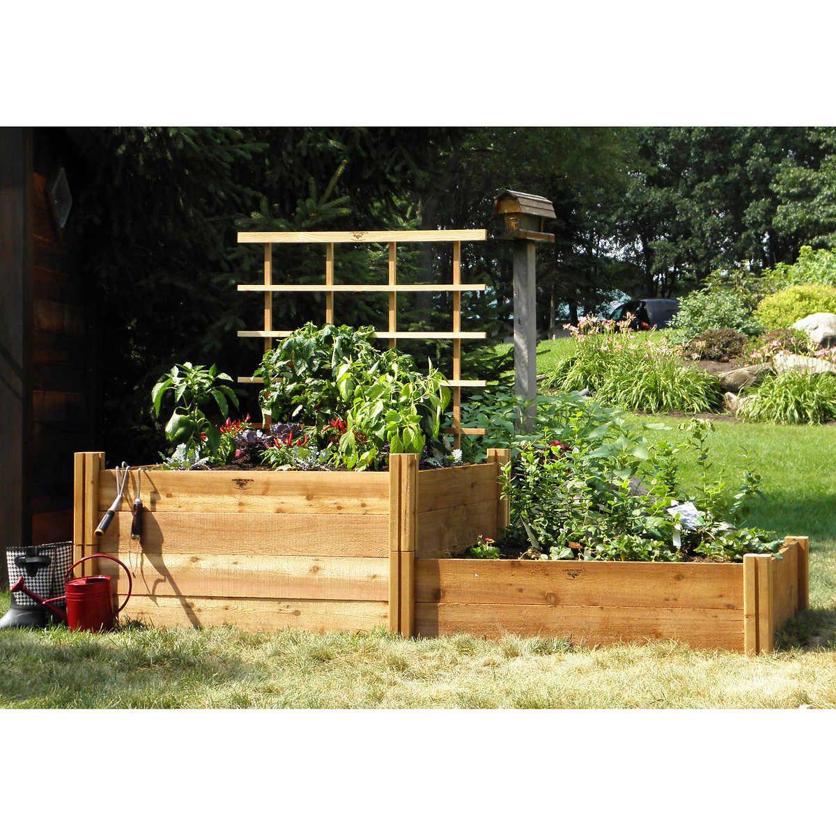 Park Art|My WordPress Blog_White Raised Garden Bed Costco