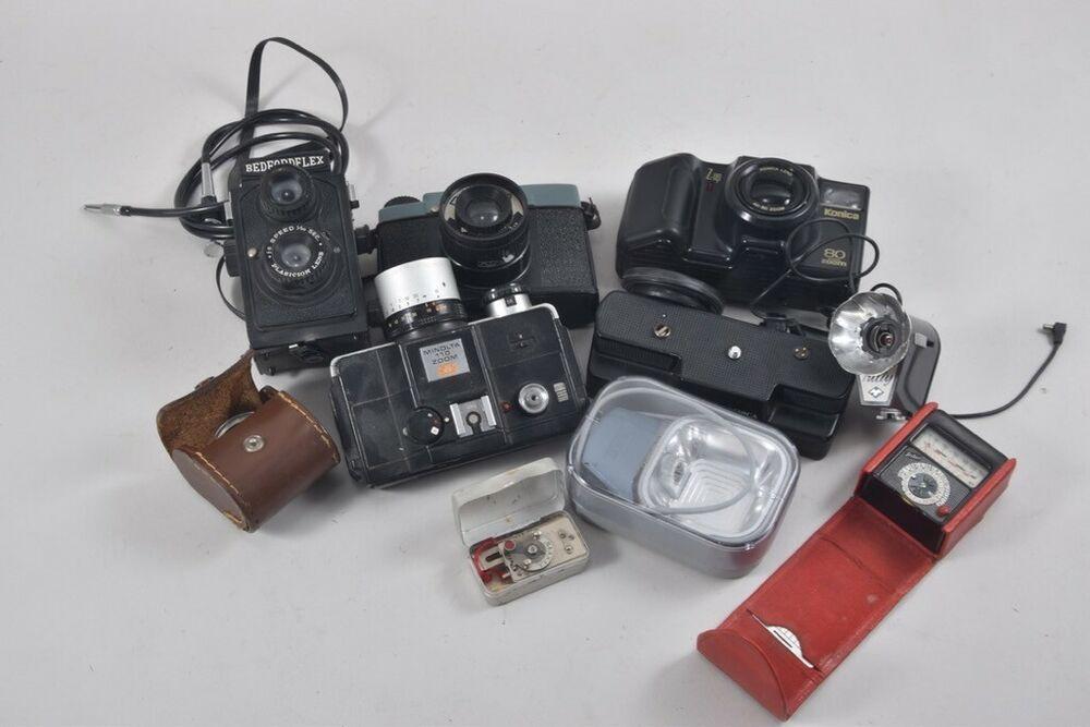 Ebay Sponsored I48r98 Konvolut 3x Alte Kamera Und Kamerazubehor