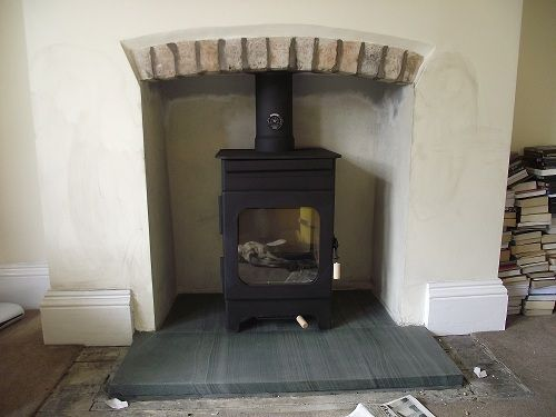 hearth ideas for wood burning stove - Google Search | Stratford ...