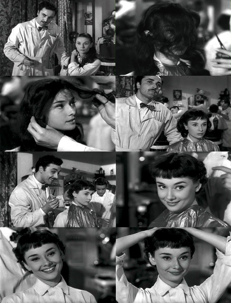 Ohhh The Hair Scene My Dear Audrey Pinterest Audrey Hepburn