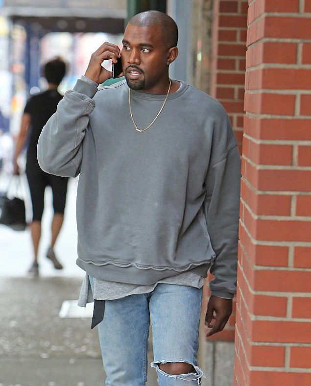 7b87433152b1 Ask Allen  Where Can I Find The Haider Ackermann Sweaters Kanye West Has  Been Wearing Regularly