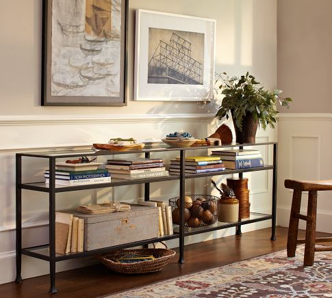 Tanner Long Console Table.  Pottery Barn