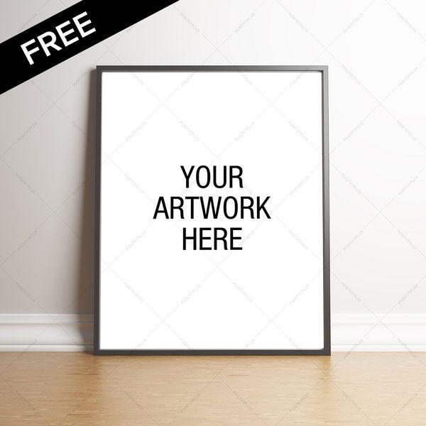 Download Free Premium Poster Frame Mockup Portrait By Positvtplus Deviantart Com On Deviantart Poster Frame Frame Mockups Poster Mockup