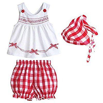 Silvercell Set-Kleinkind Baby Kinder Mädchen Pullover Shorts Schal ...