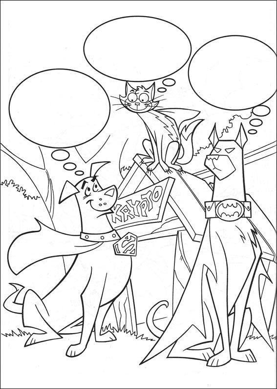 Krypto The Superdog Coloring Pages 22