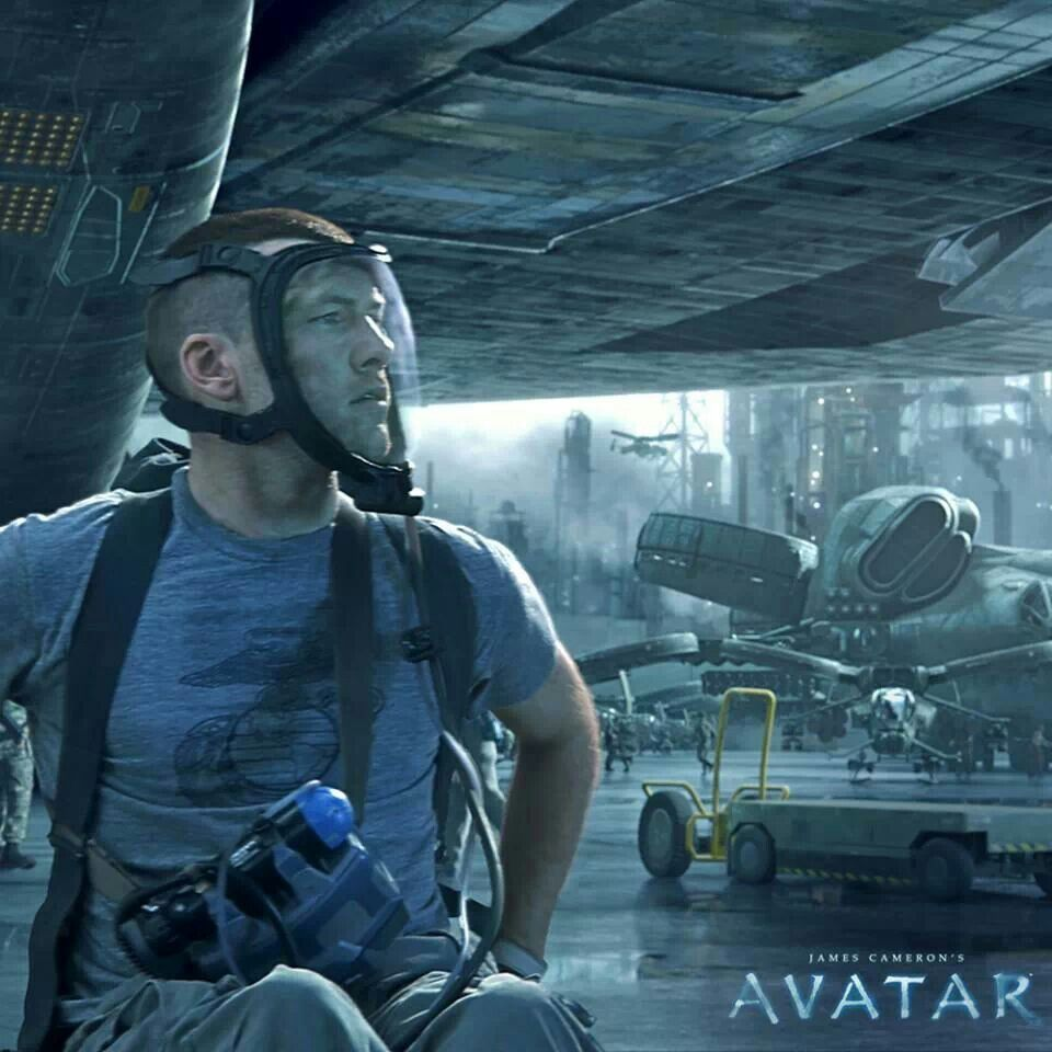 Avatar Movie: Jake Sully Before His Avatar Body. Would Be A Cool Cosplay