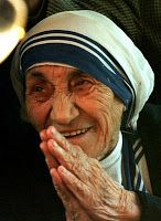 """""""Let no one ever come to you without leaving better and happier. Be the living expression of kindness: kindness in your face, kindness in your eyes, kindness in your smile."""" Mother Teresa"""