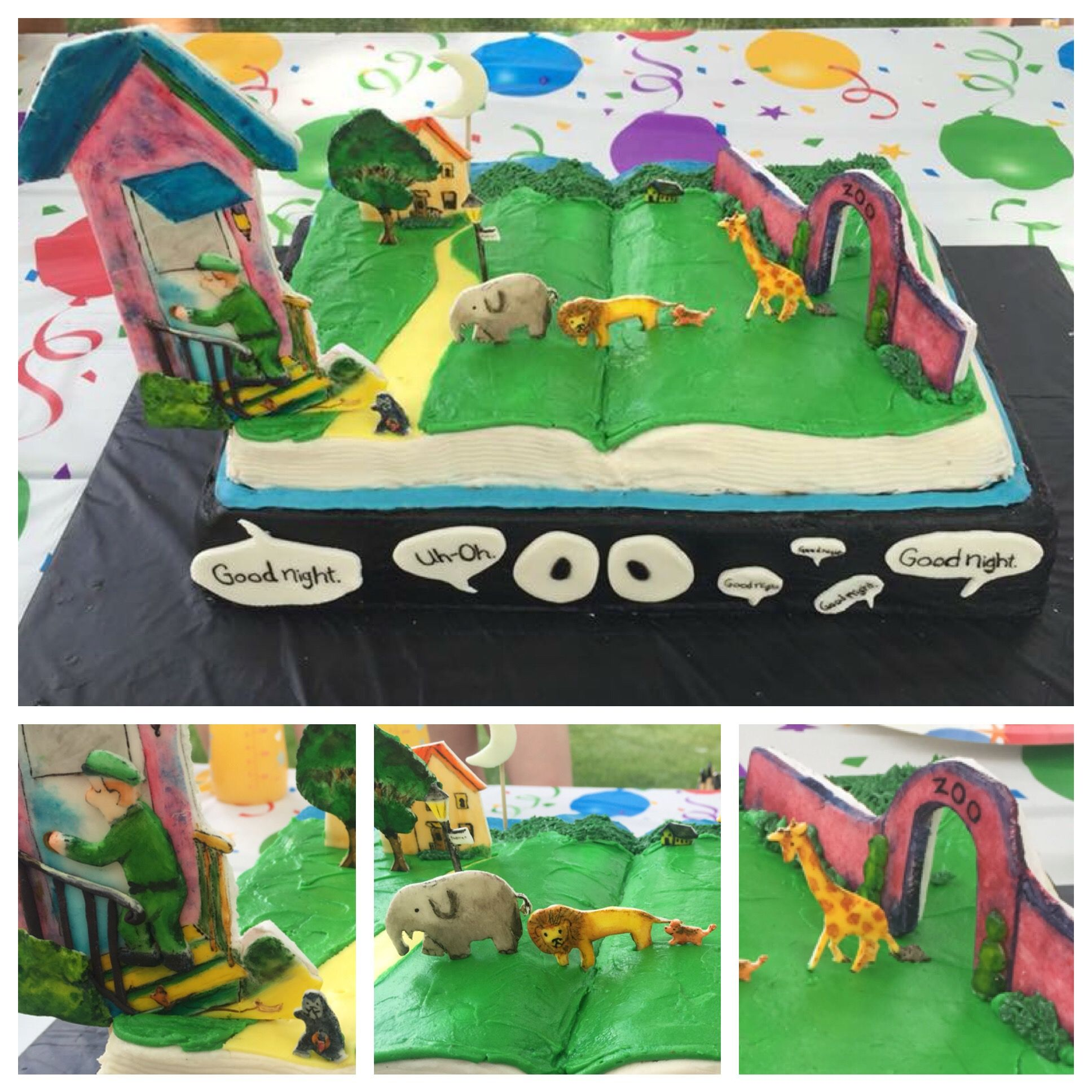 This Is Our Good Night Gorilla Pop Up Cake This Was For
