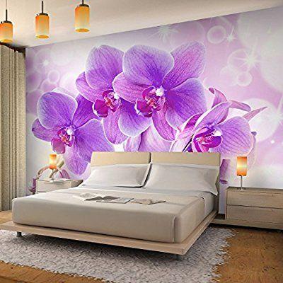 Www Amazon De Gp Aw D B01ced625m Psc X3d 1 Fototapete Orchidee Tapete Wohnzimmer Wandtapete