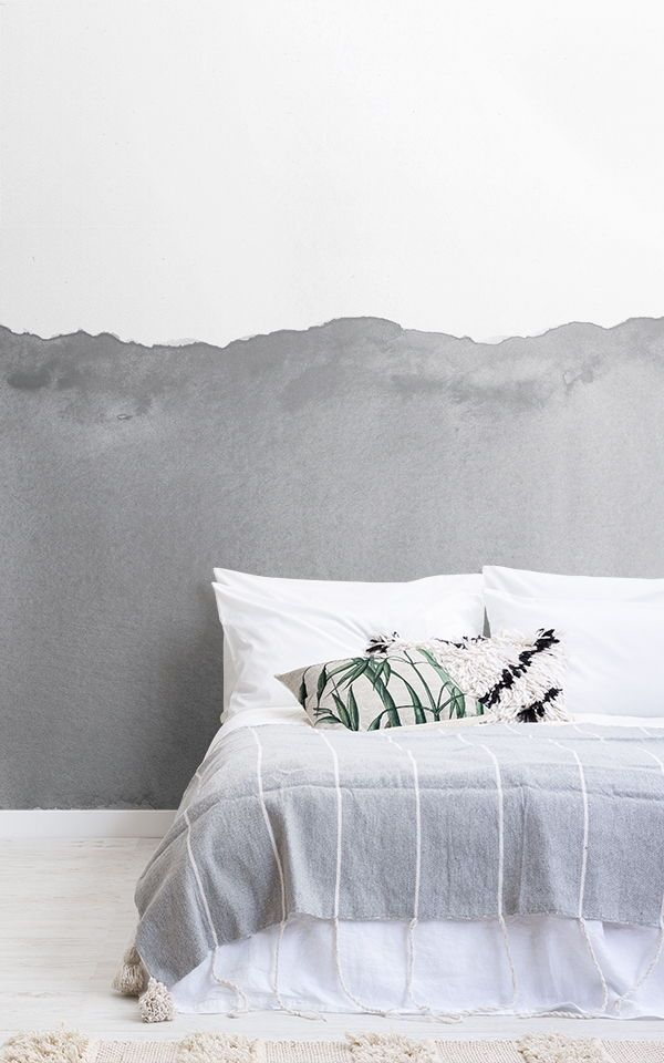 Create A White Modern Bedroom With These Beautifully Simple White Wallpaper Design White Is Wallpaper Design For Bedroom Grey Wallpaper Bedroom Modern Bedroom