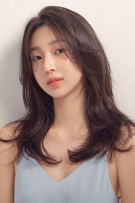 Korean Hairstyles Women Curlyhairstyles Curly Hairstyles Korean Hair Styles Medium Hair Styles Korean Medium Hair
