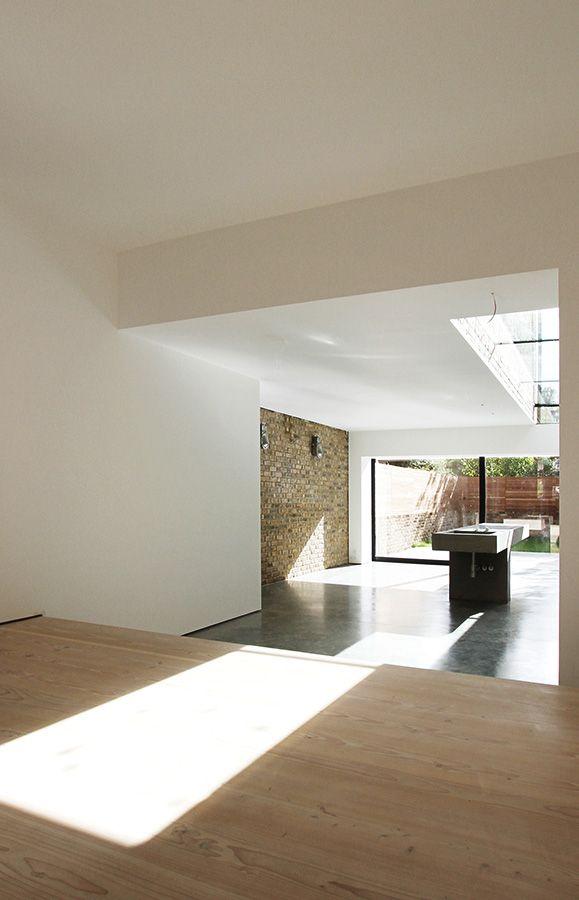 Luxury Minimalist Interior Dinesen Flooring Concrete Flooring