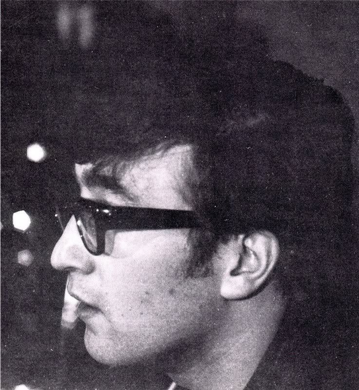 John in profile