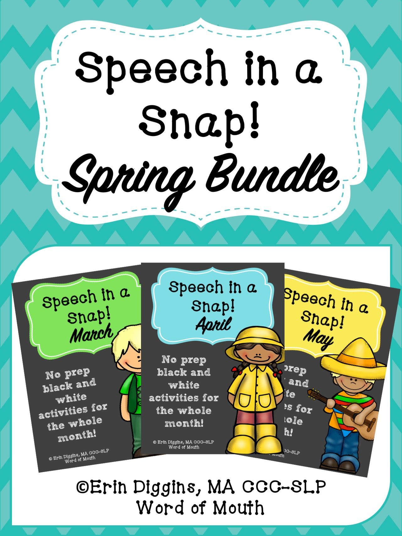 Premise Indicator Words: Speech In A Snap Spring Bundle